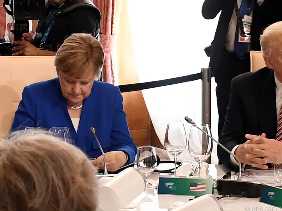 Trump legt nach und wiederholt Anschuldigungen an Deutschland