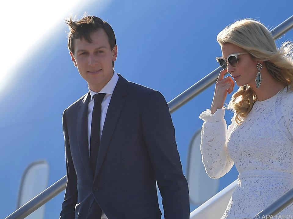 Jared Kushner ist Ivanka Trump verheiratet