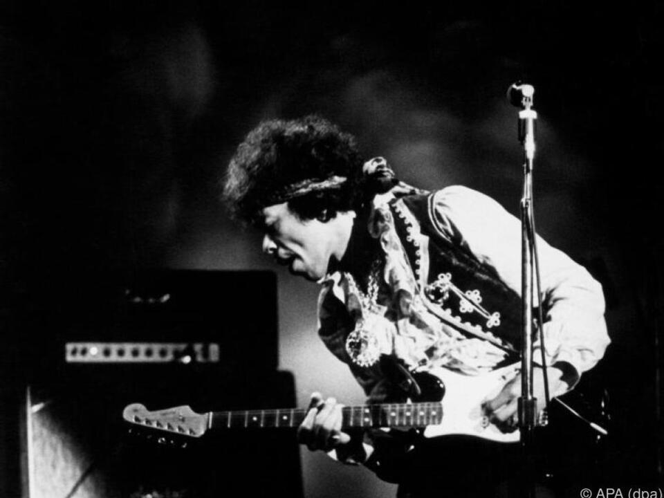 Jimi Hendrix beim Monterey Pop Festival 1967