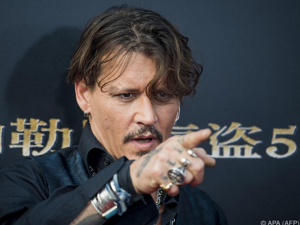 Johnny Depp als exzentrischer McAfee