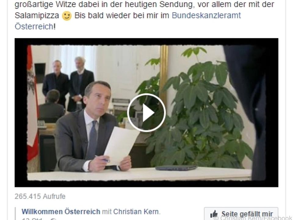 Kern gratulierte auf Facebook zum Jubiläum