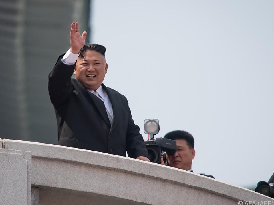 Kim Jong-un fühlt sich bedroht