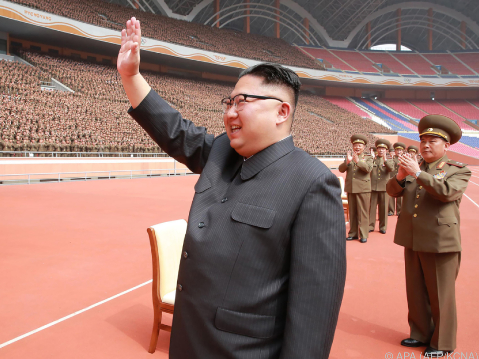 Kim Jong-Un provoziert immer wieder mit Raketentests
