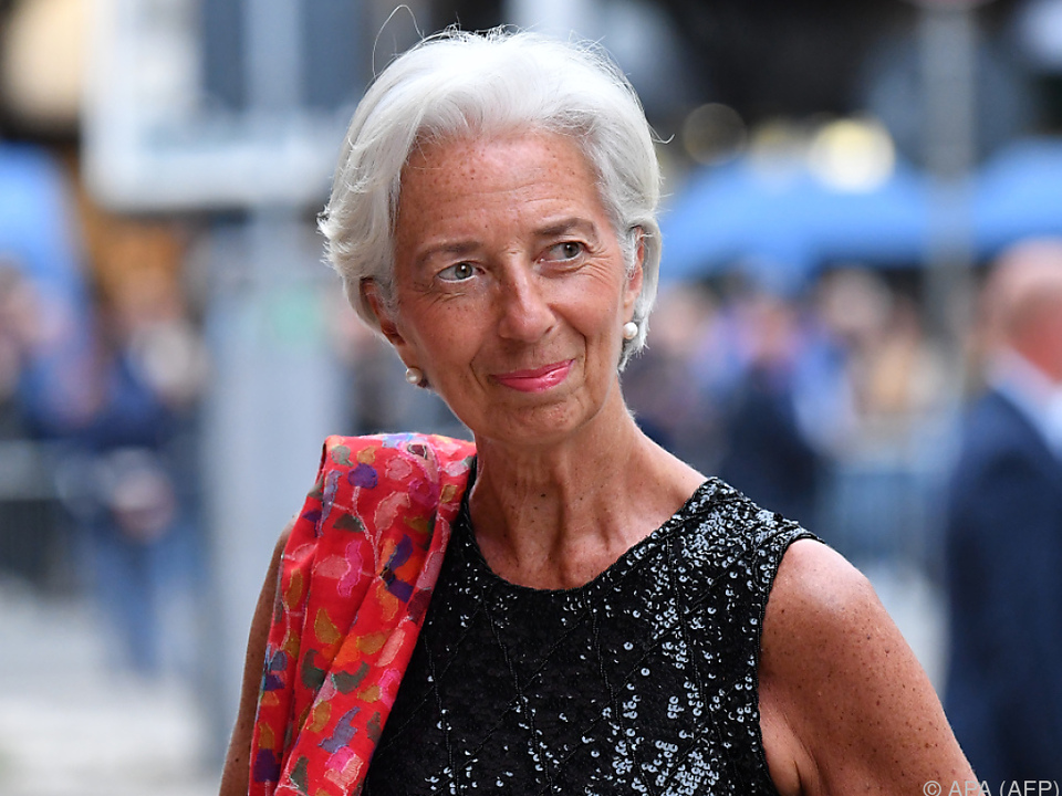 Klare Forderung von IWF-Chefin Christine Lagarde