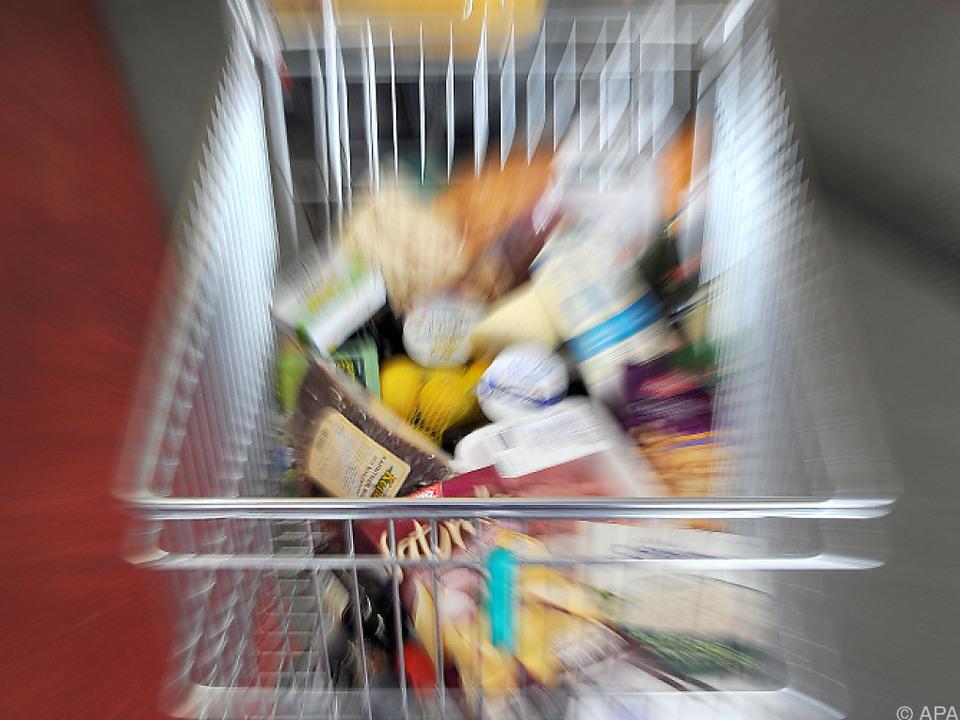 Lebensmitteleinkauf in Deutschland günstiger als in Österreich einkaufen shopping inflation
