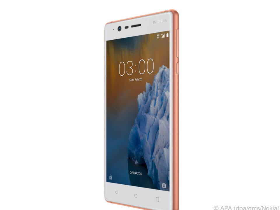 Das Nokia 3 kommt in Kürze für rund 150 Euro in den Handel