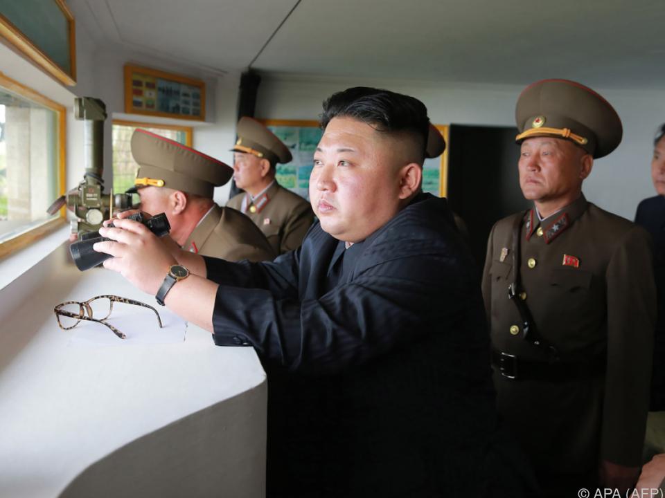 Machthaber Kim Jong-un führte bereits zahlreiche Raketentests durch