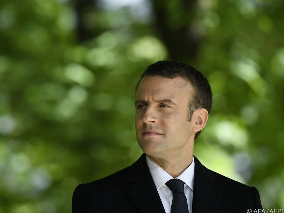Macron will im Juni eine Parlamentsmehrheit erringen