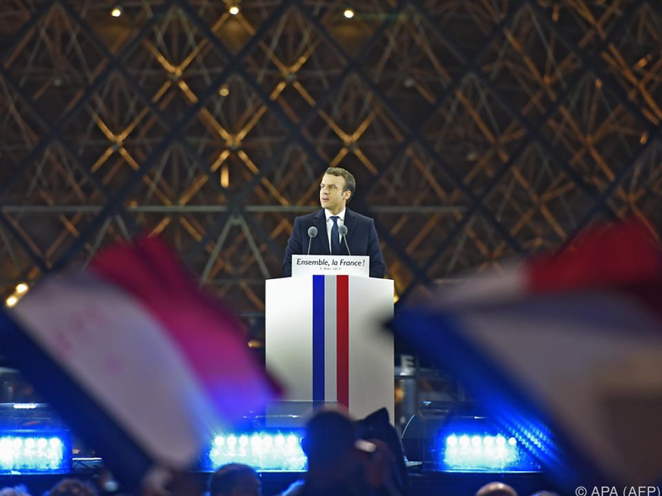 Macron wird der jüngste Präsident der französischen Geschichte