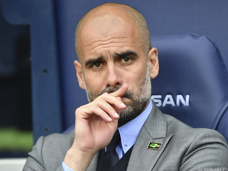 Manchester-City-Trainer Pep Guardiola