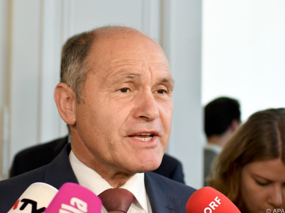 Minister Sobotka berichtete von der groß angelegten Aktion