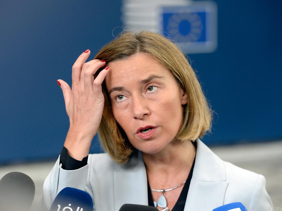 Mogherini sieht EU gestärkt
