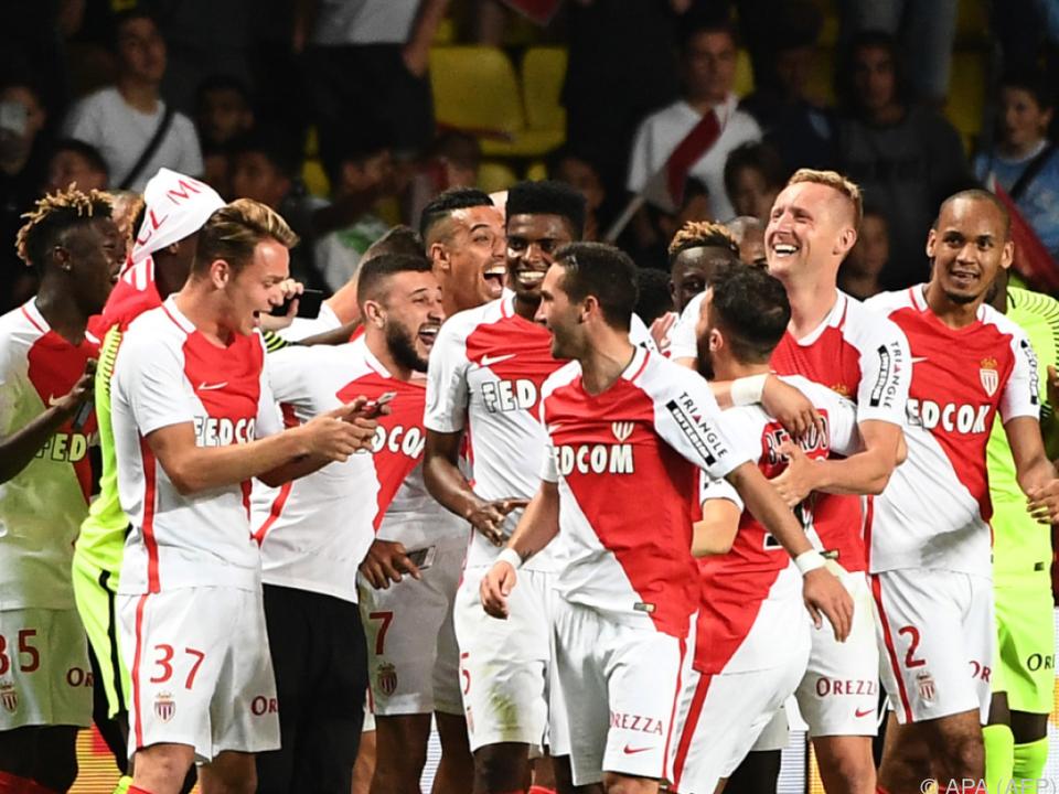 Monaco feiert den Meistertitel