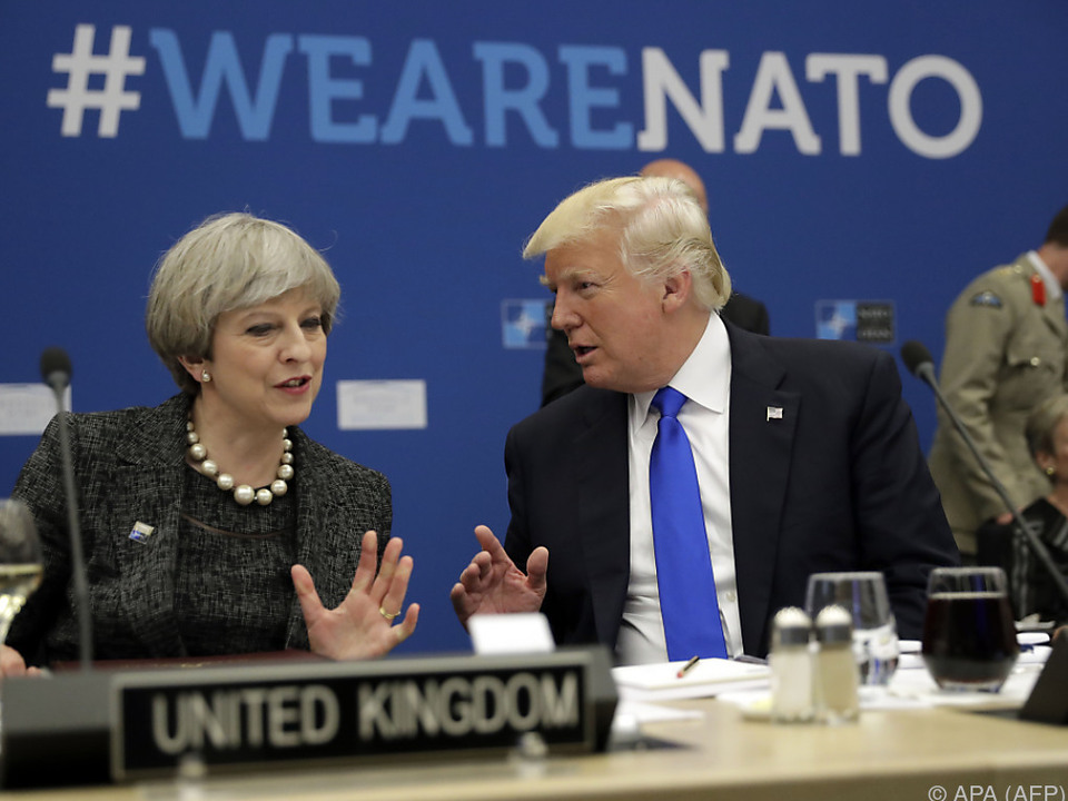International: Ärger ums Geld: Trump auf Konfrontationskurs zu Nato-Partnern