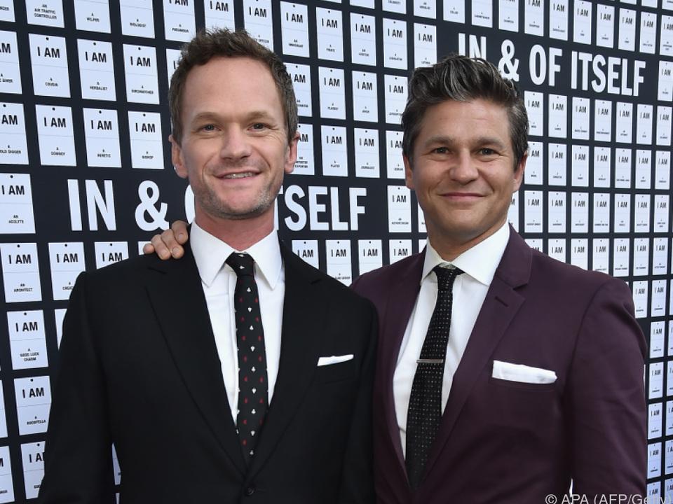 Neil Patrick Harris und sein Mann David Burtka