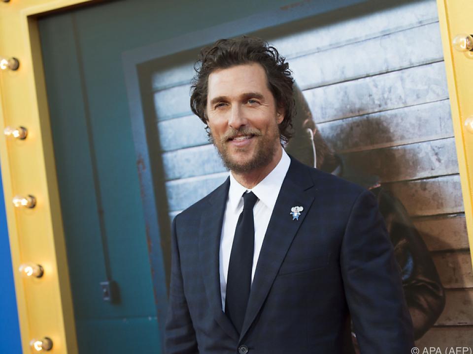 Film - McConaughey und Elba werben für