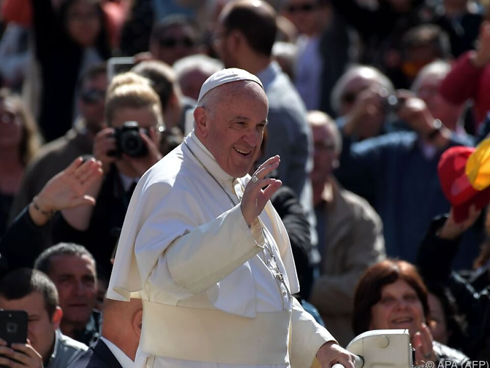 Papst Franziskus bald als Leinwandstar