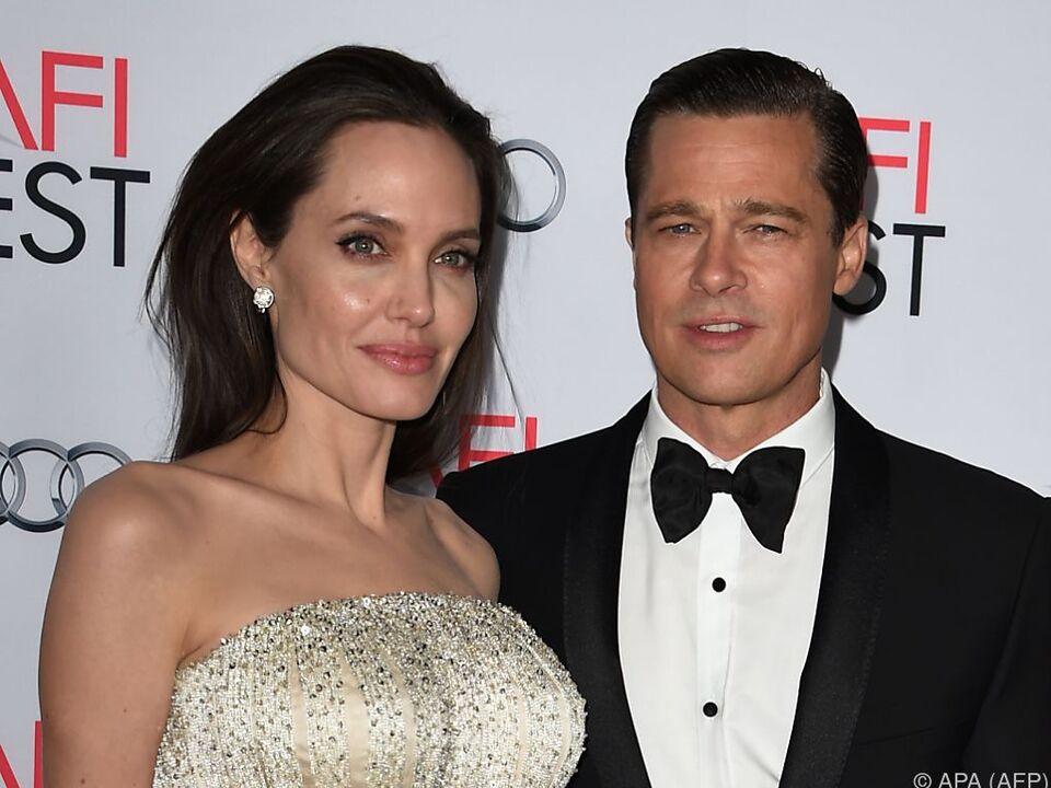 Pitt und Jolie geben nach der Trennung \