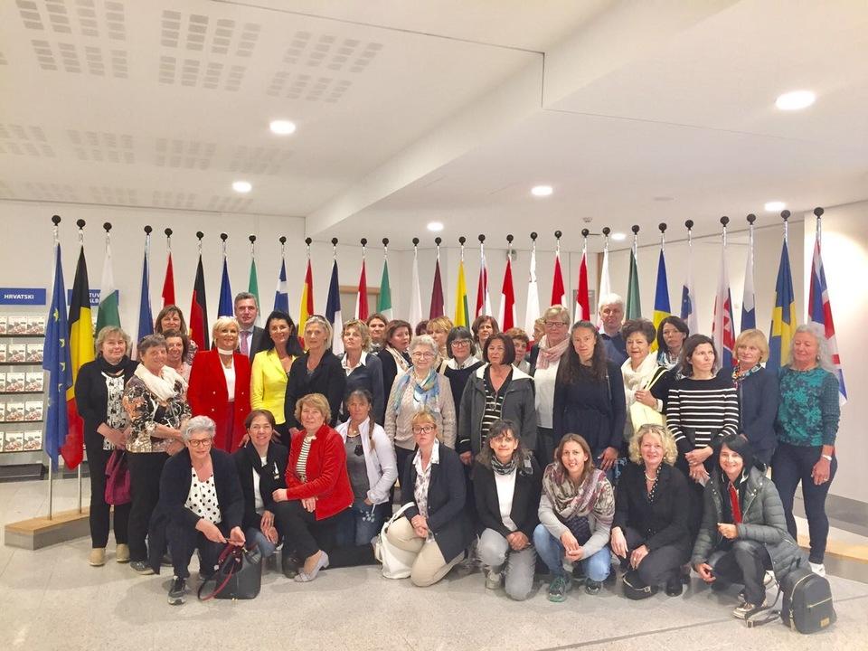 HGV-Frauen Ausflug Brüssel