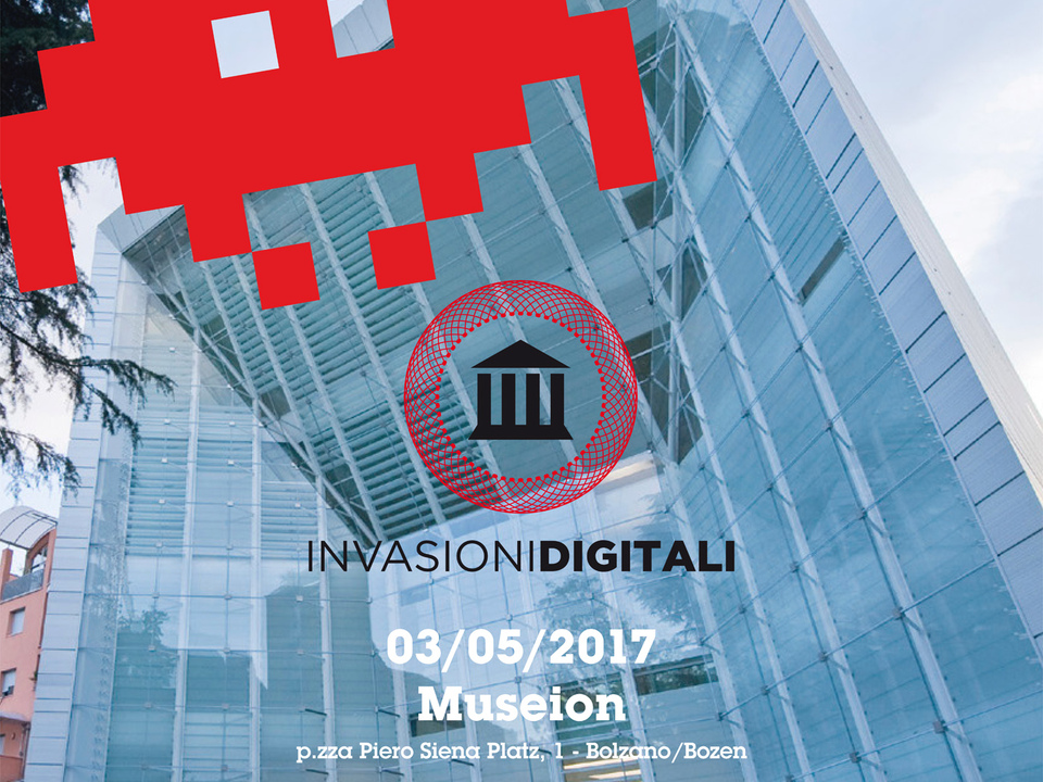 Poster Invasionidigitali Museion