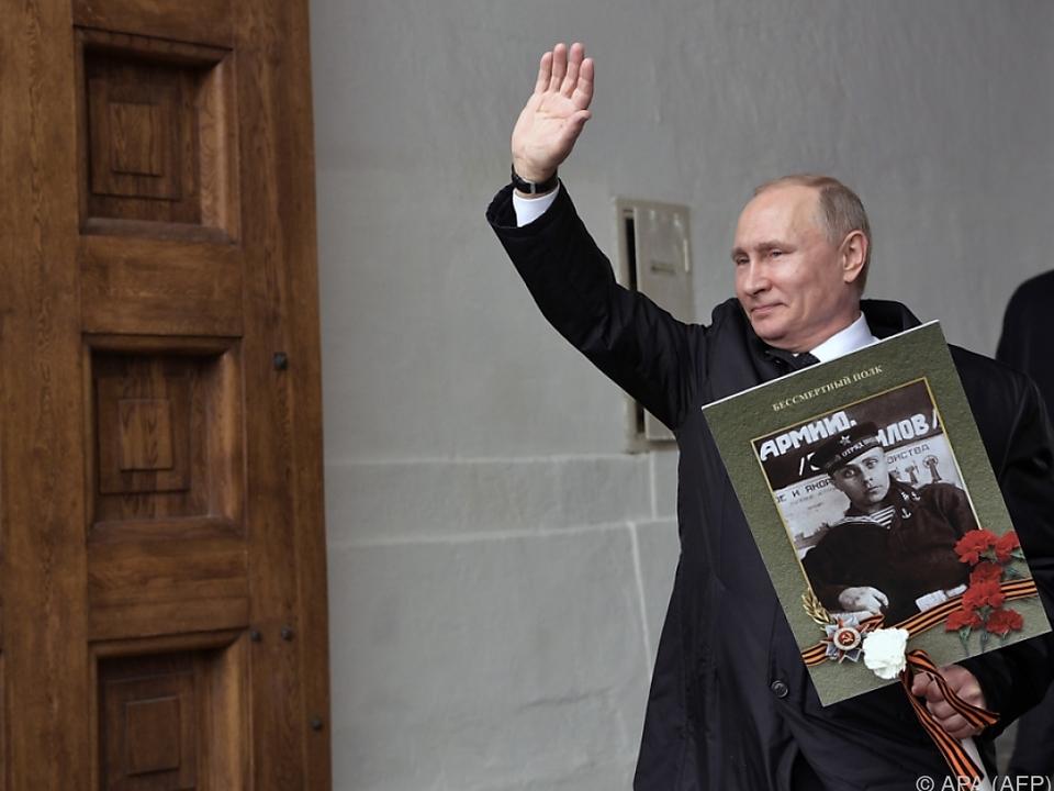 Putin fordert Bündelung der Kräfte