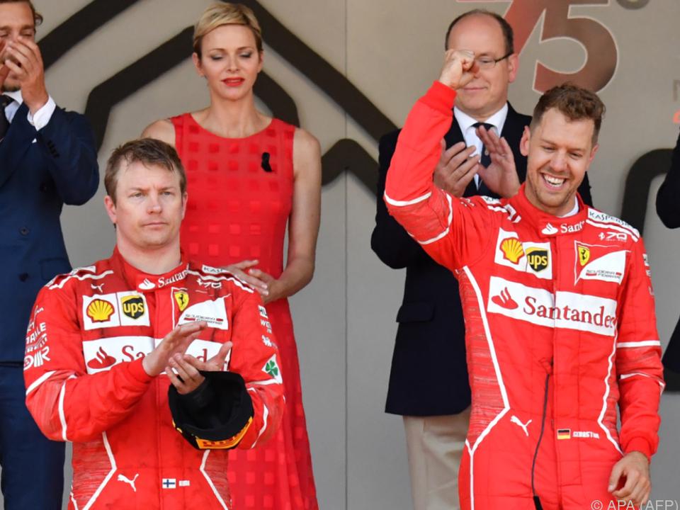 Räikkönen hat sich auch schon mehr über einen zweiten Platz gefreut