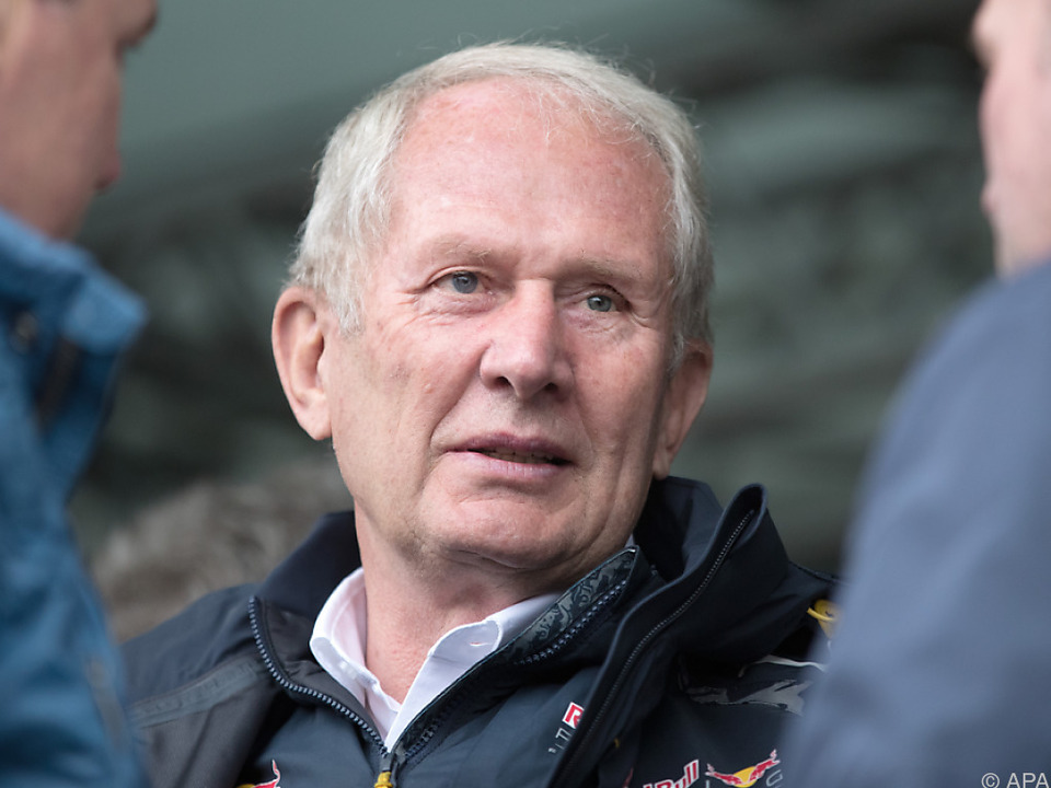 Red-Bull-Teammanager Helmut Marko