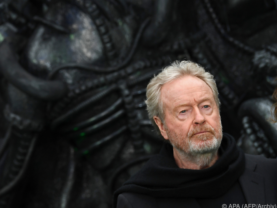 Ridley Scott litt an Schlaflosigkeit