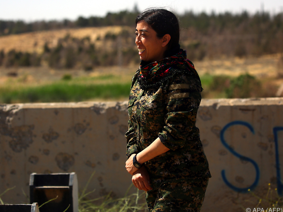 Rodja Felat: Kampferprobte Kommandantin