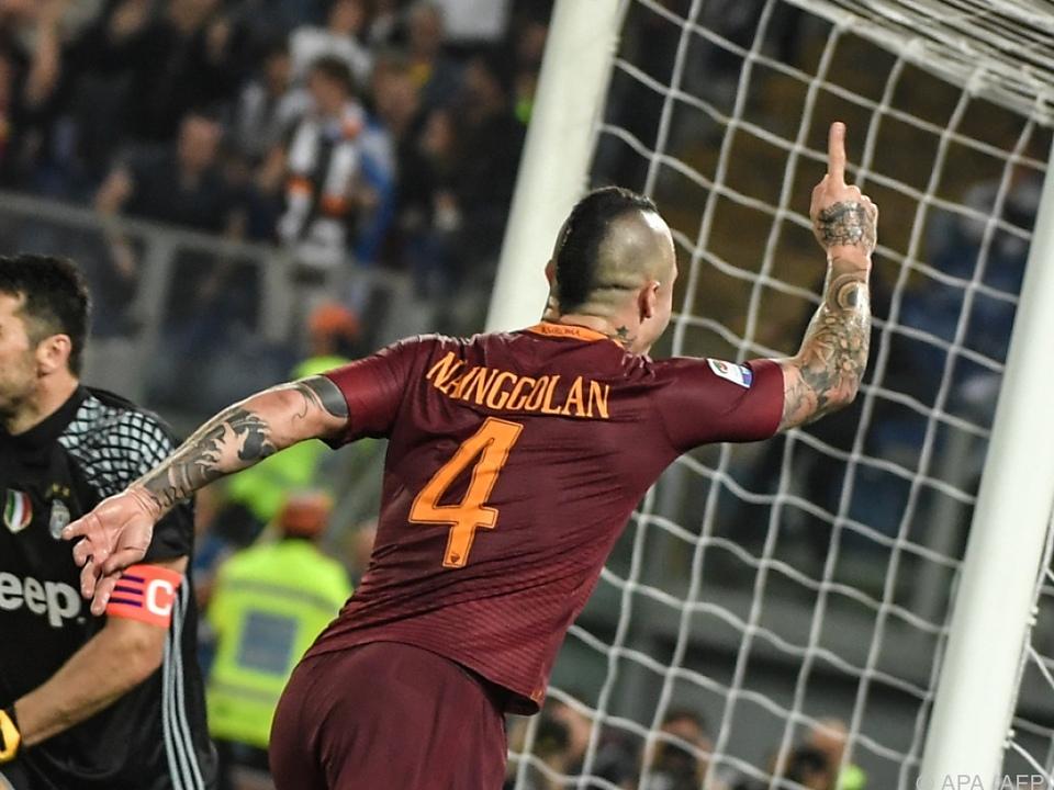 Roma rückte bis vier Punkte an Juventus heran