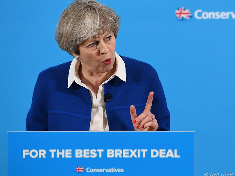 Schlechtes Ergebnis würde Mays Brexit-Verhandlungsbasis schwächen