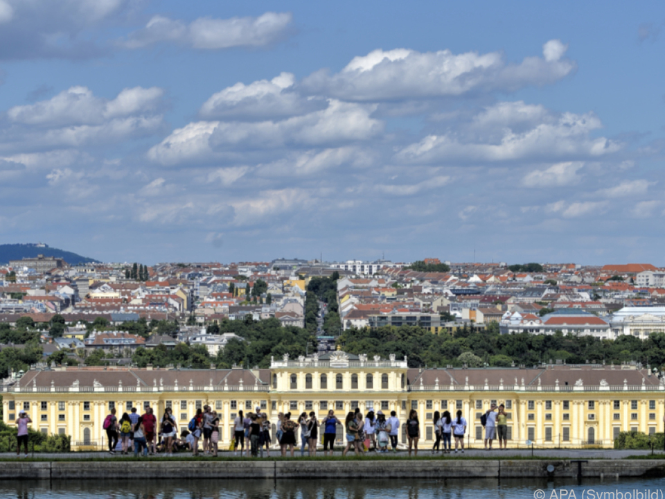 Schönbrunn ist Touristenmagnet Nr. 1