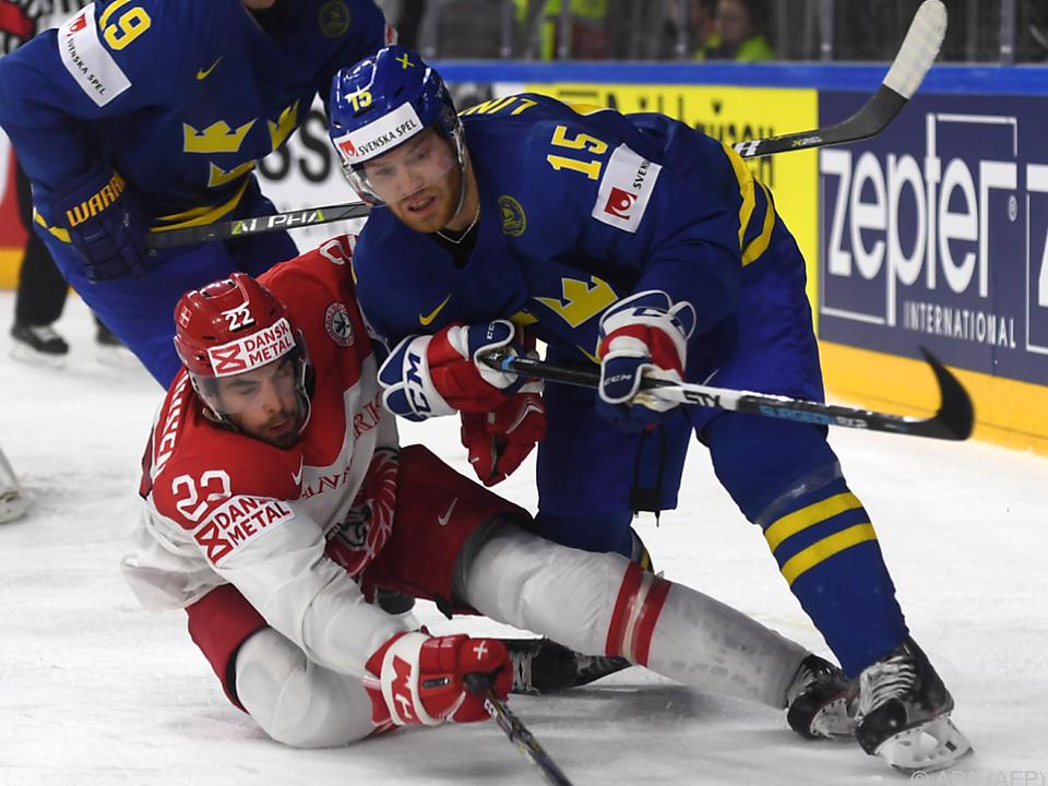 Schweden schlug Dänemark 4:2