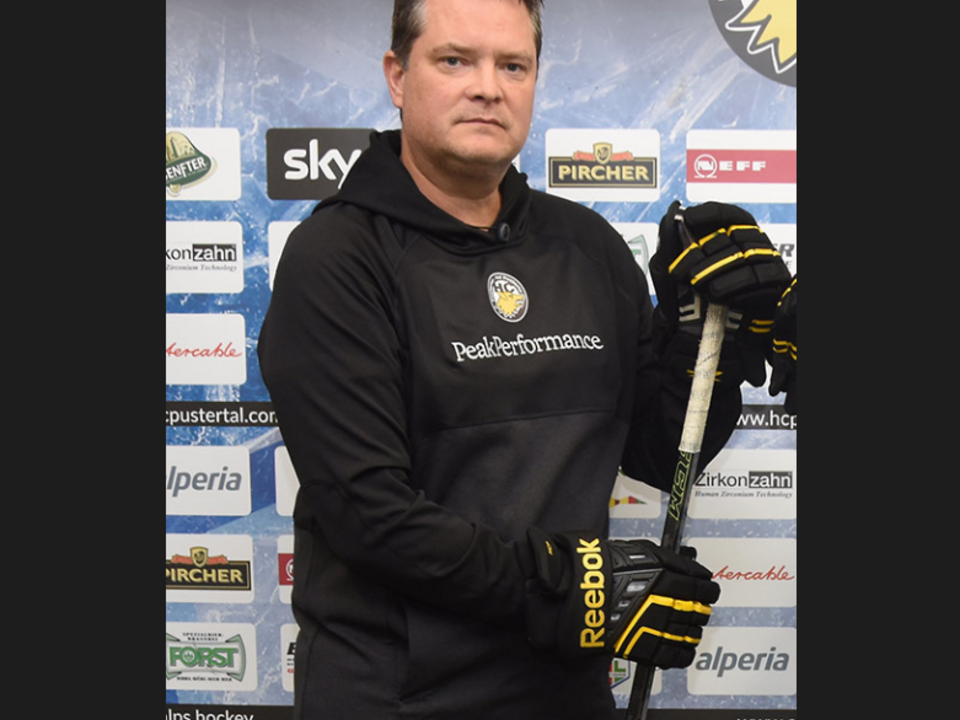 Mark Holick Coach HC Pustertal