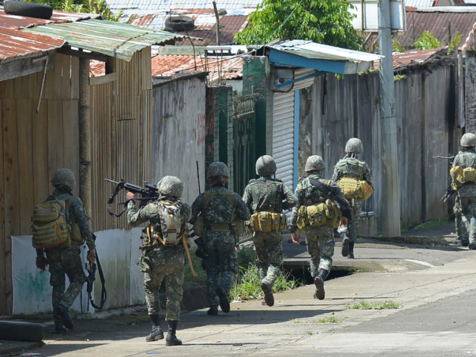Seit einer Woche wird in Marawi gekämpft