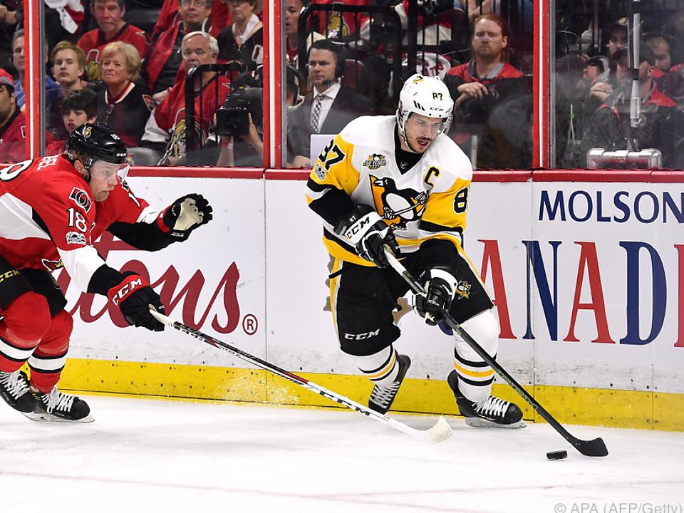 Sidney Crosby überzeugte mit seiner Leistung