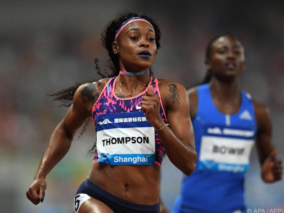 Sprintsiegerin Elaine Thompson
