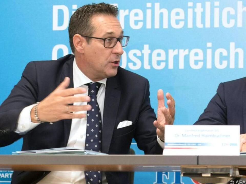 Strache (l.) will Stillstand überwinden