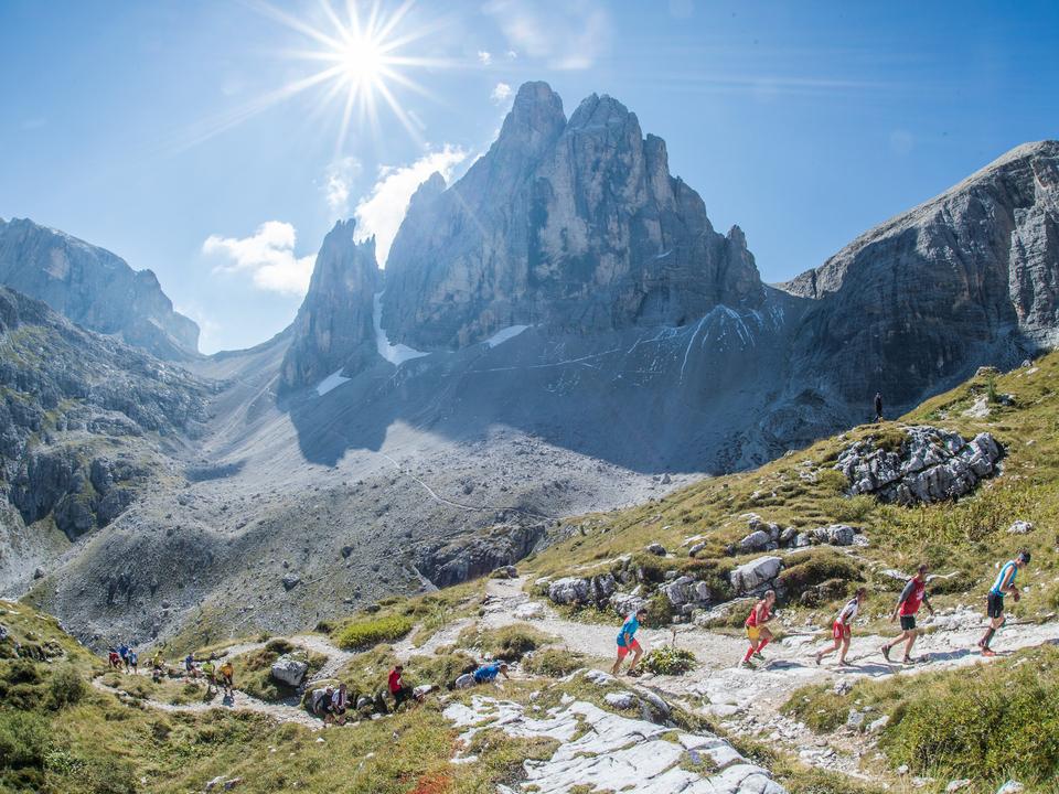 Südtirol Drei Zinnen Alpine Run