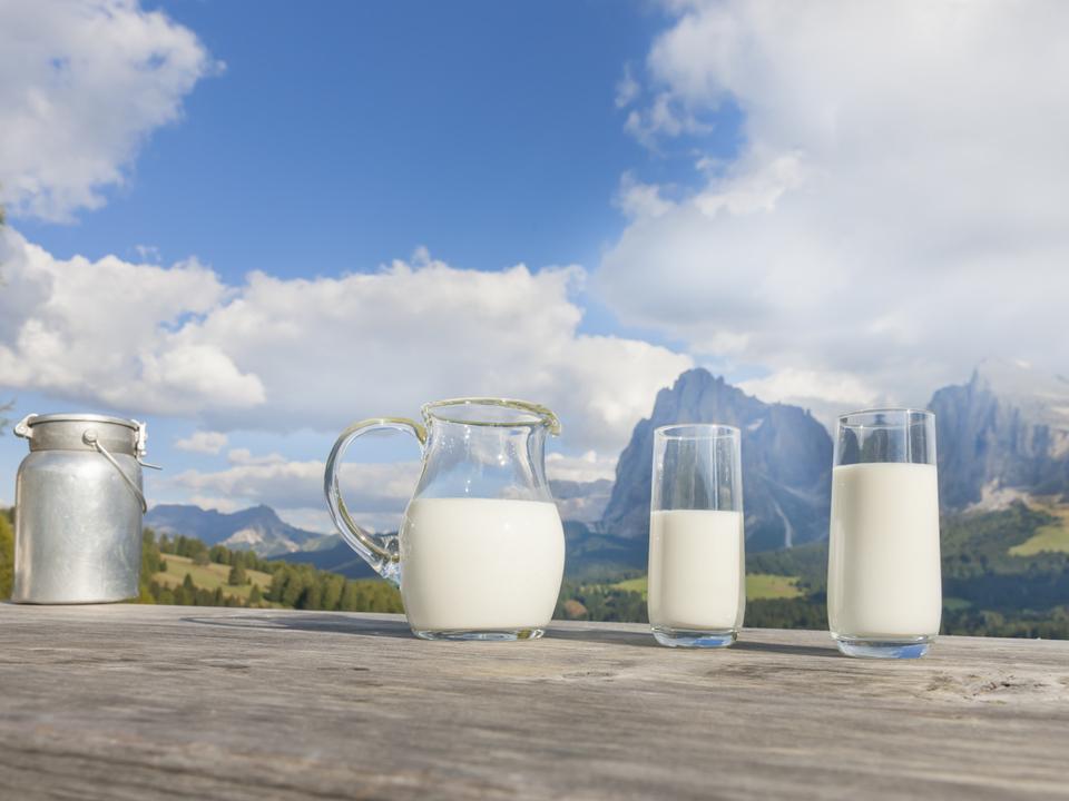 Milchprodukte, Milch,