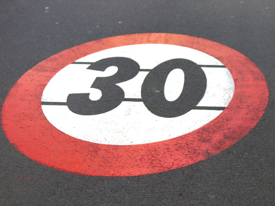 tempo-30 schild