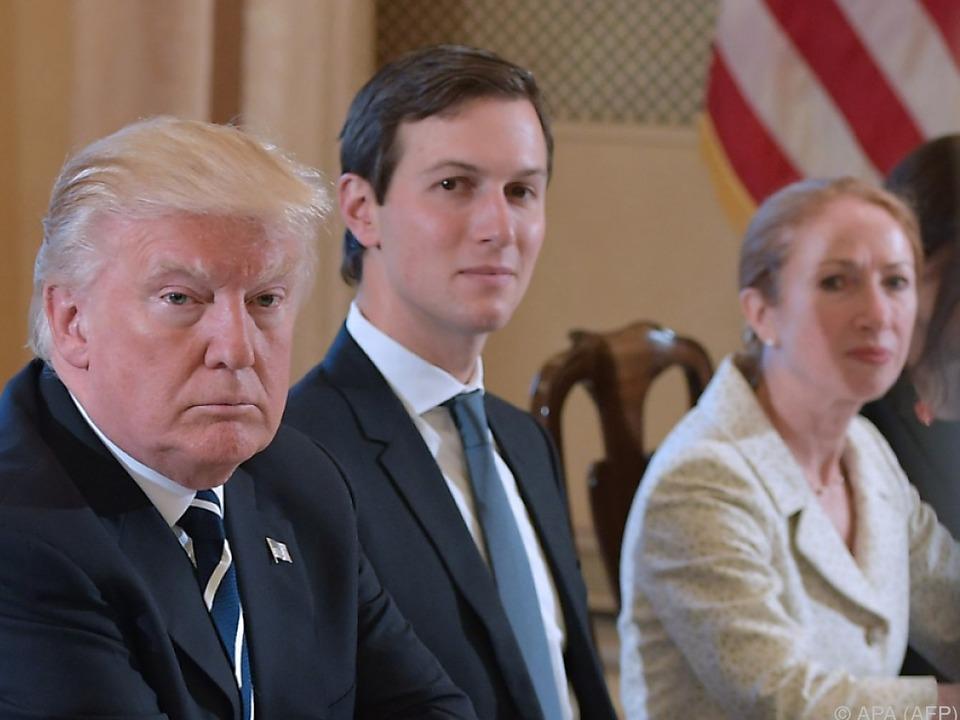 Trump steht seinem Schwiegersohn bei