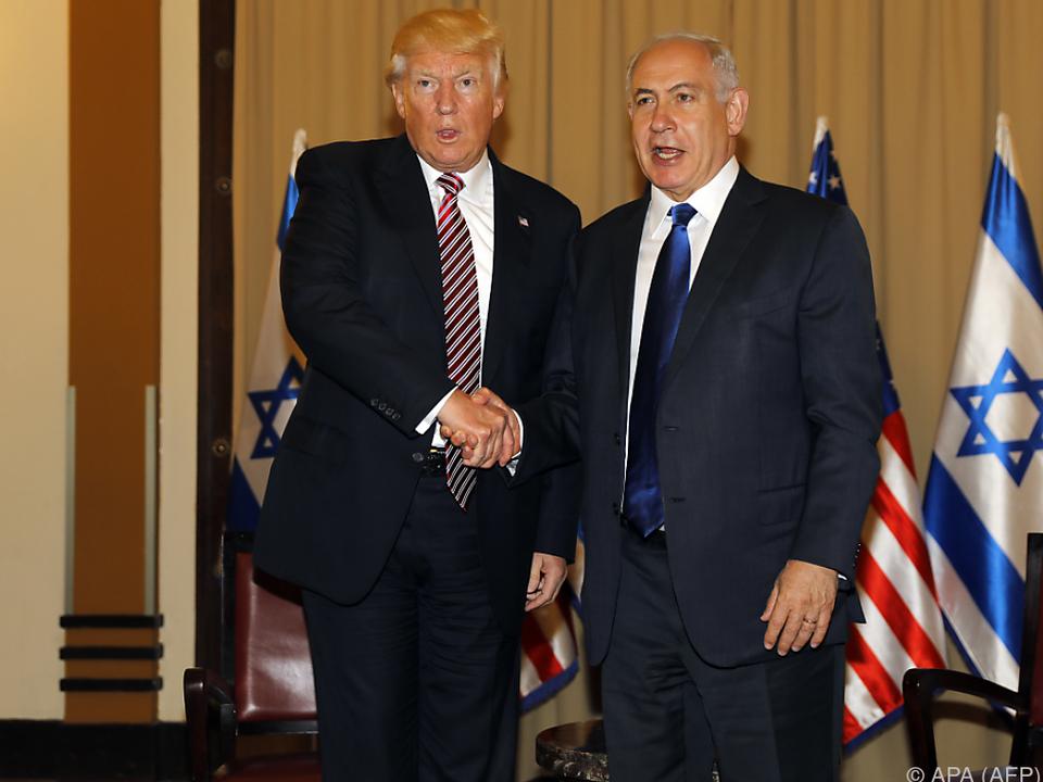 Trump traf Netanyahu in Jerusalem