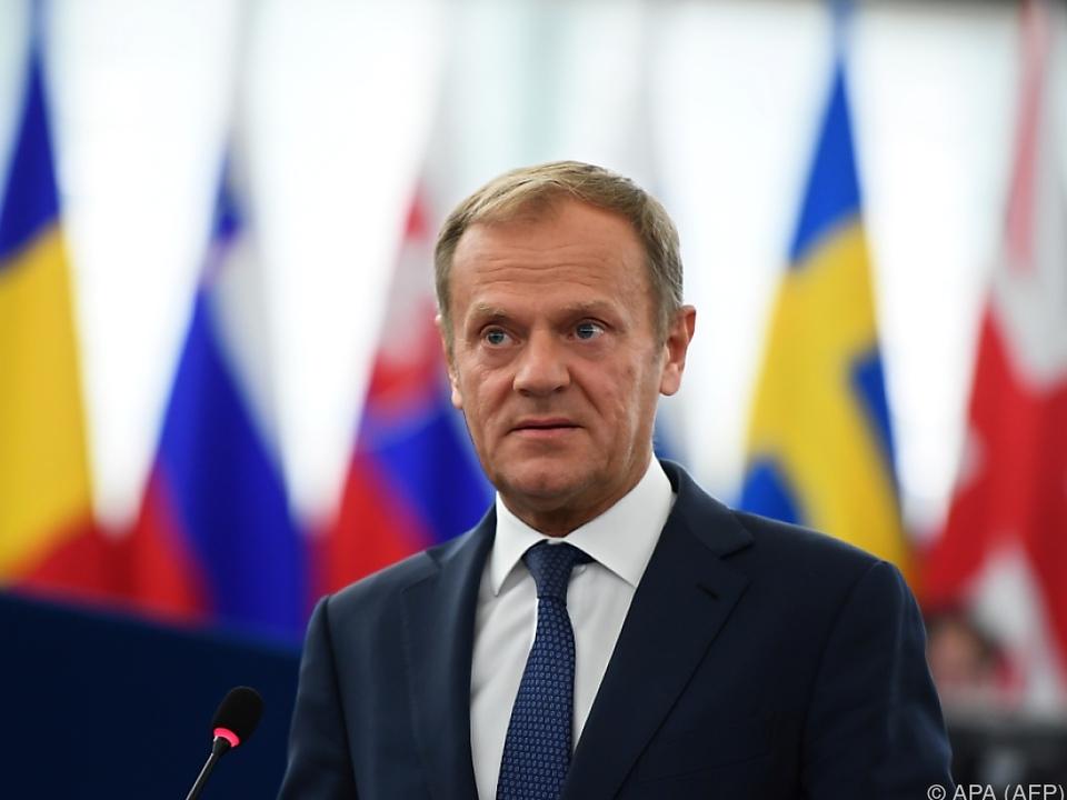 Tusk sieht die restliche EU geeint