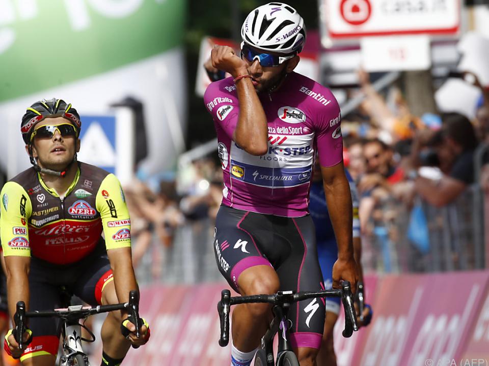 Gaviria gewinnt zwölfte Giro-Etappe