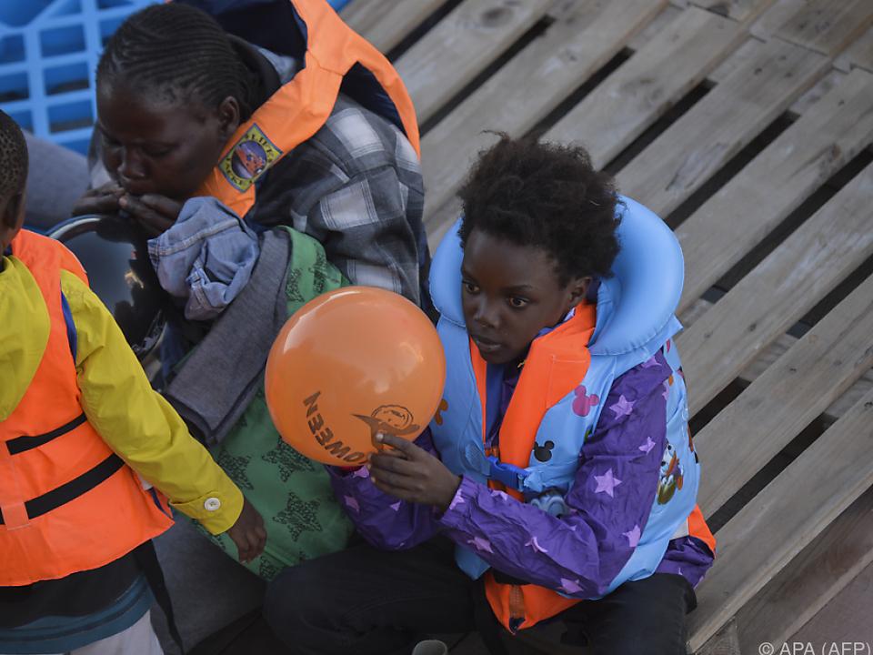 Unter den Flüchtlingen sind immer mehr Kinder