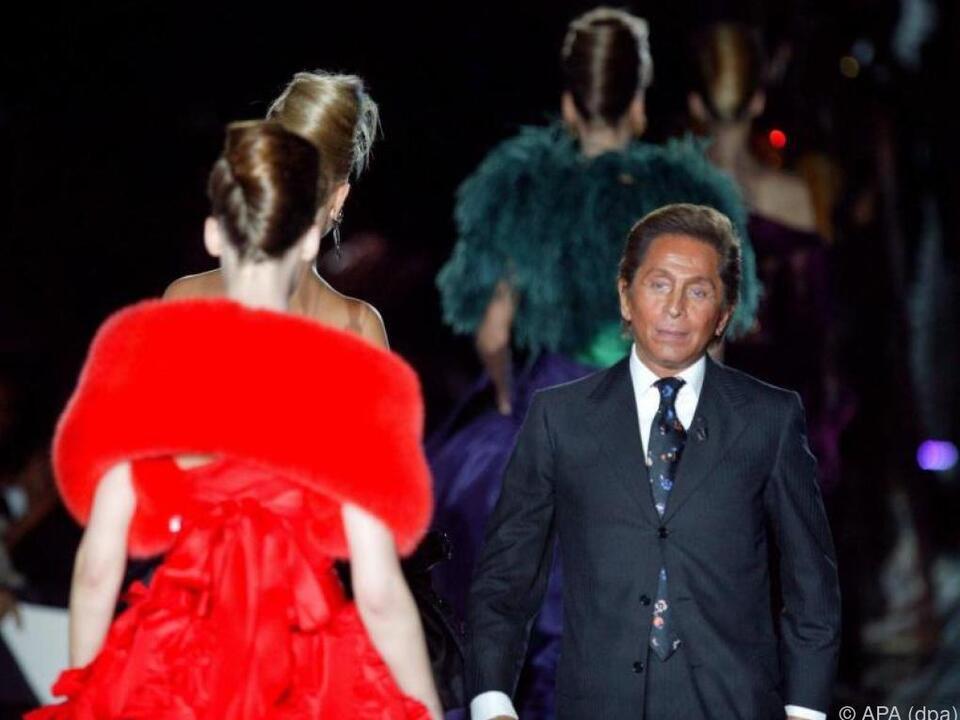 Valentino steht für Luxus, Eleganz und schöne Frauen