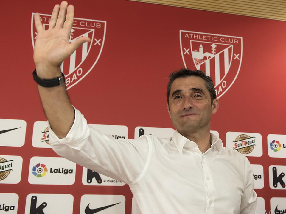 Valverde betreute zuvor Athletic Bilbao