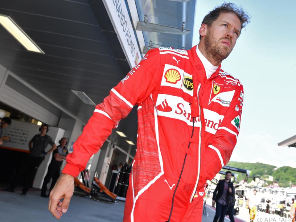 Vettel stapelt vor dem Barcelona-GP tief