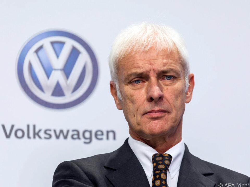 VW-Konzernchef Matthias Müller